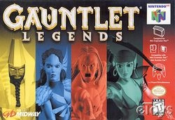 Gauntlet Legends (USA) Box Scan